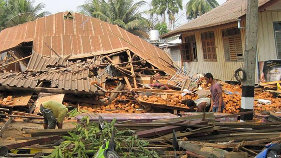 Photos Earthquake - Myanmar (Birma) - Thailand - Vietnam