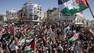 الفصائل الفلسطينية تعلن الالتزام بالتهدئة اذا التزمت اسرائيل بها 110326225836_westbank304