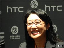 HTC董事长王雪红(资料图片)