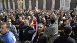 Aksi demo di Suriah