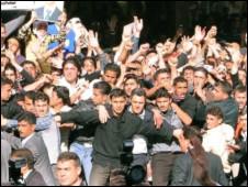 叙利亚抗议民众