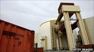 La planta iraní de Bushehr