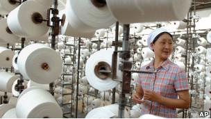 Fábrica textil en China