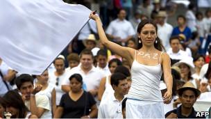 Marcha por la paz en México (Archivo)