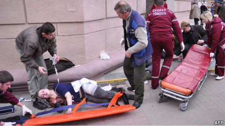 Ledakan di ibukota Belarus, Minsk