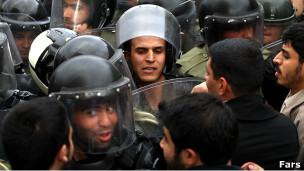 تظاهرات در مقابل سفارت عربستان در تهران