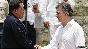 Chávez y Santos