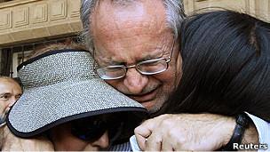 Javier Sicilia y su familia.
