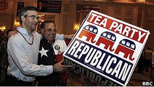 Partidários do Tea Party