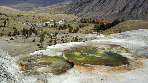 Géiseres de Yellowstone, en Estados Unidos