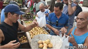 Campesinos en Cuba