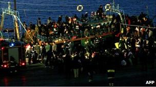 مهاجران تونسی