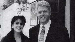 Monica Lewinsky y Bill Clinton
