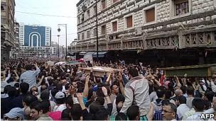 تظاهرات سوری ها در حمص