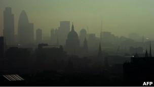 Smog en Londres