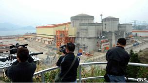 广东大亚湾核电站(中新社图片24/3/2011)