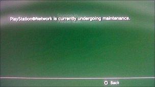 Mensaje de error en PlayStation