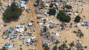 The damage of war in Sri Lanka (file photo)