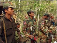 Binh lính Campuchia
