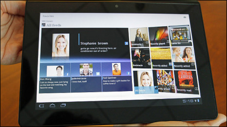 Tablet mới Sony vừa cho ra mắt