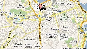 Mapa de Rio de Janeiro en Google.