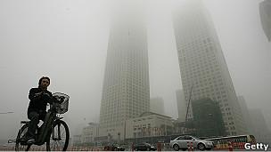 Smog en Hong Kong