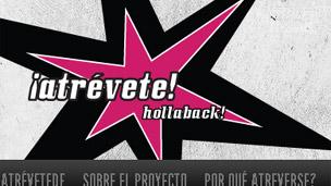Hollaback! Foto cortesía: http://mexicodf.ihollaback.org/