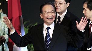 温家宝在雅加达印尼世界事务委员会发表演讲(30/4/2011)