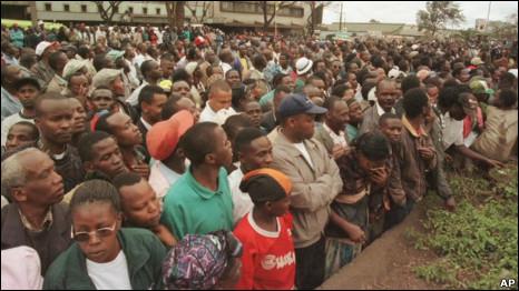 Athari za mlipuko Nairobi