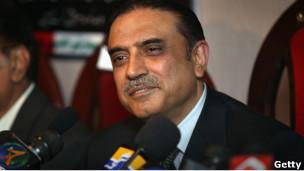آصف علی زرداری، رئیس جمهوری پاکستان