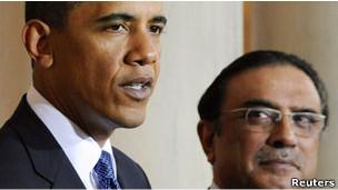 Obama y Zardari