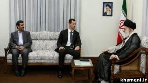 رهبران ایران و بشار اسد