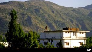 Casa donde vivía Bin Laden en Abbottabad