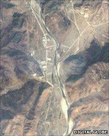Ảnh chụp vệ tinh trại Yodok