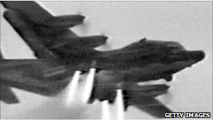 Avión utilizado en la operación Garra de Águila