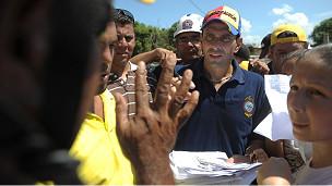 Henrique Capriles Radonski, gobernador del estado Miranda