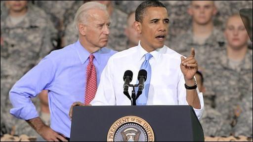 Tổng thống Obama và phó Tổng thống Biden