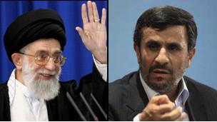 احمدی نژاد - خامنه ای
