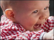 A bebê Darcey (BBC)
