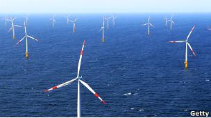 energia eólica na Alemanha / Getty