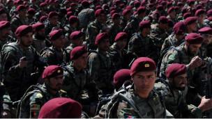 قوات الجيش الافغاني