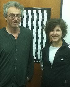 Alejandro Delorenzi y Veronica Coccoz