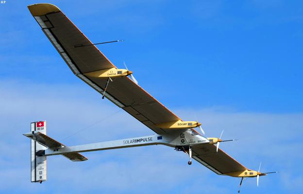 الطائرة الشمسية
