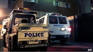 Xe của lực lượng cảnh sát New York