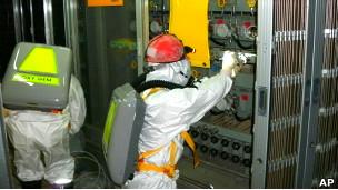 """На атомной станции """"Фукусима-1"""""""