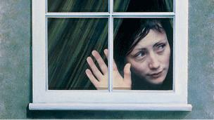 Mujer con agorafobia (SPL)