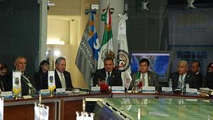 Genaro García Luna, secretario de Seguridad México