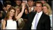 Ông Schwarzenegger và vợ, bà Shriver, khi ông thắng cử Thống đốc bang California