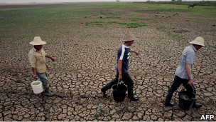 Sequía en la provincia de Hubei