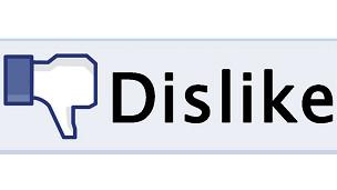 """Propuesta de botón """"No me gusta"""" en Facebook"""